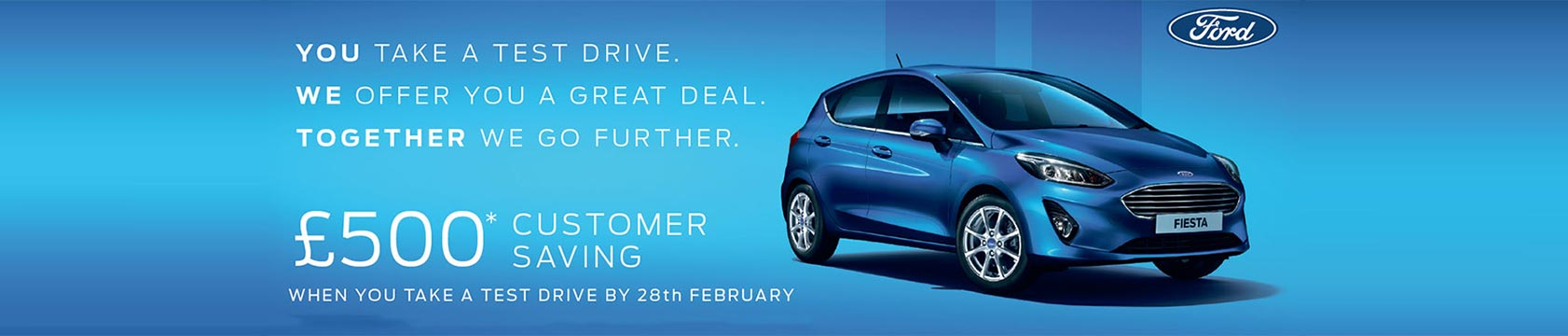 February 2018 Test Drive Offer | Fairway Motors