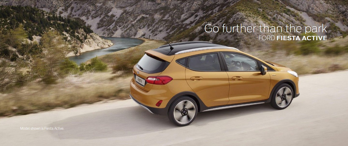 All New Fiesta Active | Fairway Motors