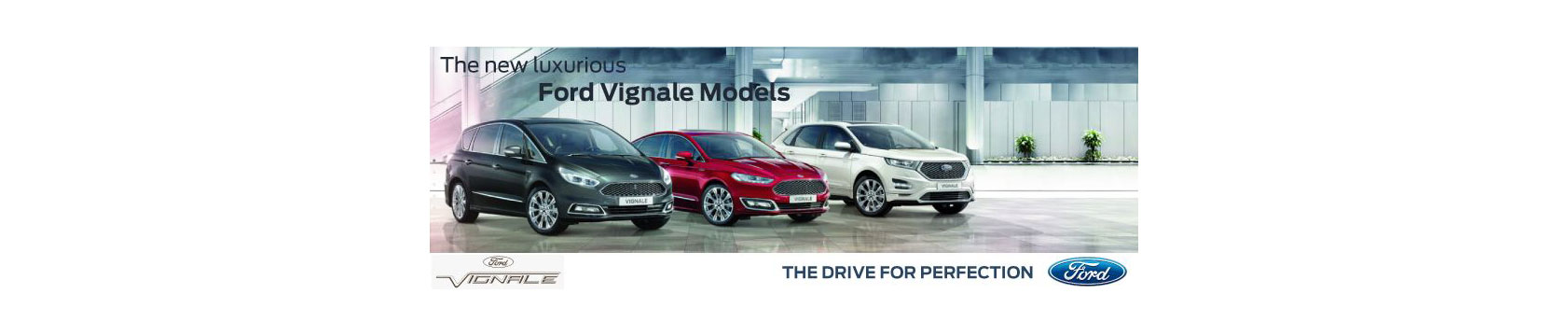 New Luxurious Ford Vignale Models | Fairway Motors
